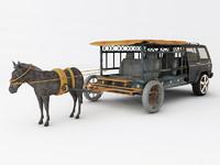 3d model of strange car