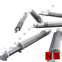 3ds max syringe medical injection
