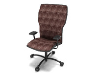 3d leather mesh chair interior furniture