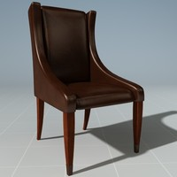 3d designer chair model