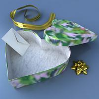 maya heart gift box
