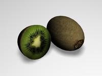 kiwi 3d model