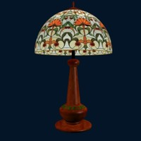 tiffany lamp lm 3d model