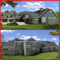 3ds luxury house