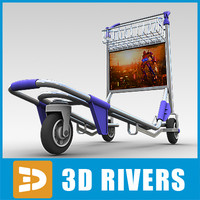 Airport hand cart by 3DRivers