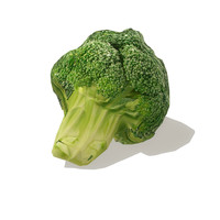 broccoli vegetables 3d model