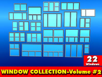 Standard Windows Collection-Volume #2- (22 Standard Windows)