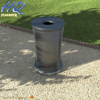 3d wastebasket 08 model