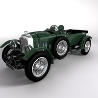 3ds max old car