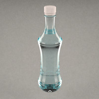 pet bottle 3d model