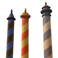 venezia poles 3d model