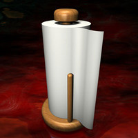paper towel holder 3d 3ds