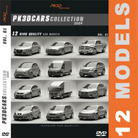 PK3D Cars Collection VOL.1 2009