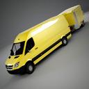 dodge sprinter 3D models