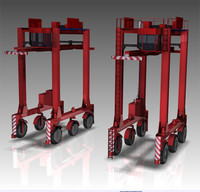 Straddle Container Carrier