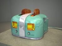 3d obj slice toaster