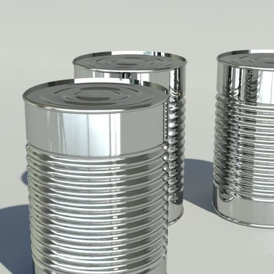 3dsmax tin canned - tin can... by Nolan Brunsdon