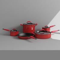 cookware 3d model
