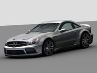 AMG Mercedes Benz SL65 Black 2009