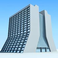3D Building 74