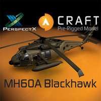 MH60A Blackhawk Pre-Rigged for Craft Director Tools