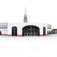 3d model church building