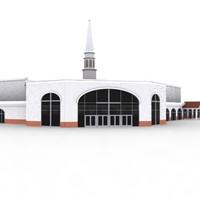 3d model church building