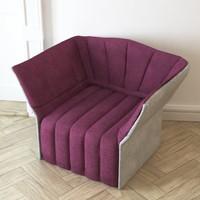 inga moel armchair ligne roset obj