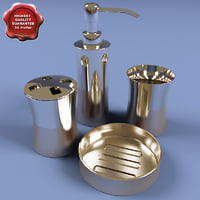 Stainless Steel Bath Set