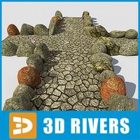 parks eco stone road 3d model