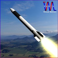 army patriot missile 3d model