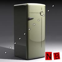 3dsmax prestcold fridge