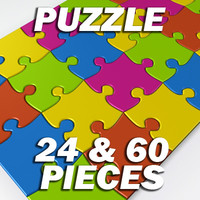 Puzzle 60 and 24 pieces Kit