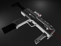 smg 3d model