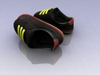 3d shoe character model