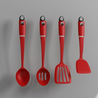 3d kitchen utensils model