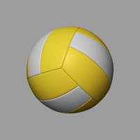 volleyball ball obj