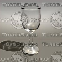8 5 oz wine glass 3d model