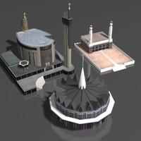 building church 3d model