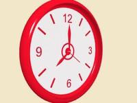 3d 3ds clock