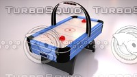 3dsmax air hockey table