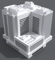 office building 04 3d max