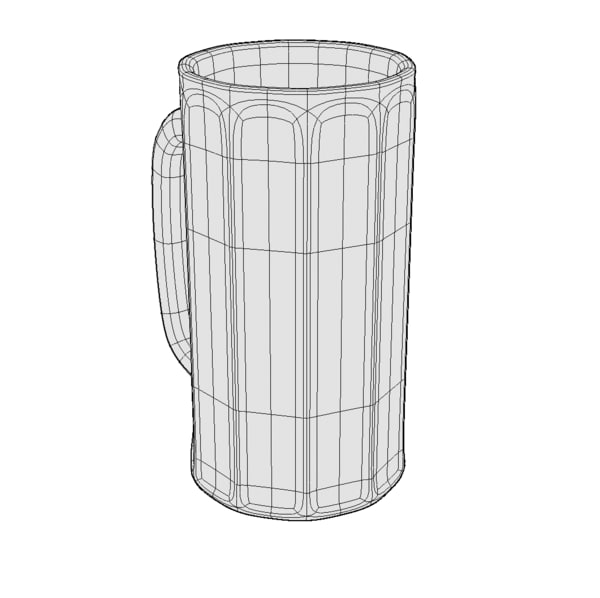 beer mug 3d model - Beer Mug 001... by Artist Rendering