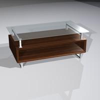 3d model box cocktail metal frames