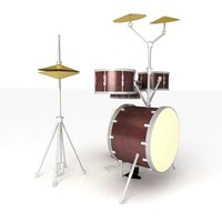 Drum Set - High Quality 3d product model