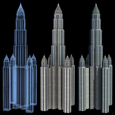 Sci-Fi Buildings - Series 1: Super Skyscraper 8