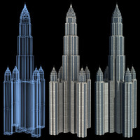 super skyscraper futuristic building max