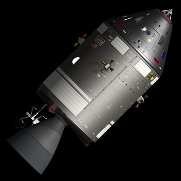 apollo spaceship model - photo #34