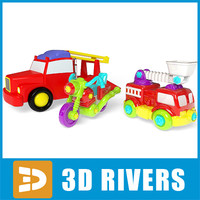 obj small toy cars