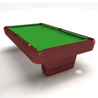 Pool Snooker Table - High Quality 3d architectural model